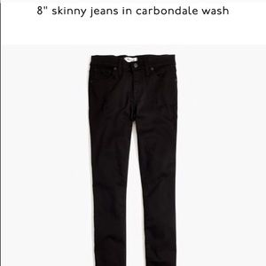 "Madewell 8"" skinny jean 26"